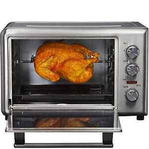 Hamilton-Beach-Countertop-Convection-Toaster-Oven-amp-Rotisserie-Stainless-Steel