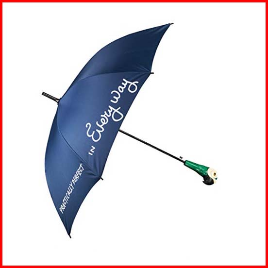 Disney's Mary Poppins Umbrella With The Iconic Parrot Handle | Full Size Perfect