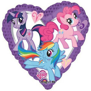 MY-LITTLE-PONY-BALLOON-32-034-MY-LITTLE-PONY-PARTY-SUPPLIES-HEART-ANAGRAM-BALLOON