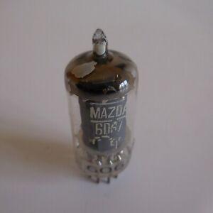Lampe-tube-poste-radio-vintage-culot-NOVAL-6067-12AU7-MAZDA-N5195
