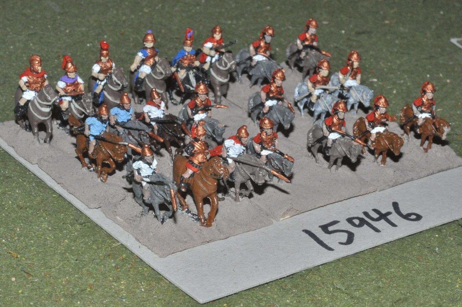 15mm classical   greek - ancient cavalry 22 cavalry - cav (15946)