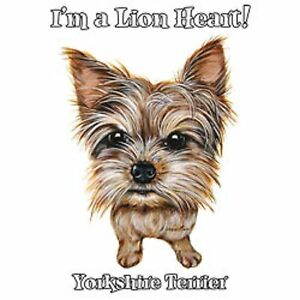 Lion Heart Yorkshire Terrier Love Tote