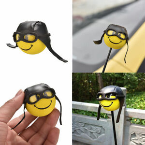 Funny-Pilot-Car-Antenna-Aerial-Ball-EVA-Topper-Truck-SUV-Pen-Decor-Gift-Toy
