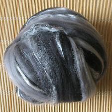 100g Dyed Merino Wool & Tussah Silk Blend - Nemesis - Felt Making, Spinning