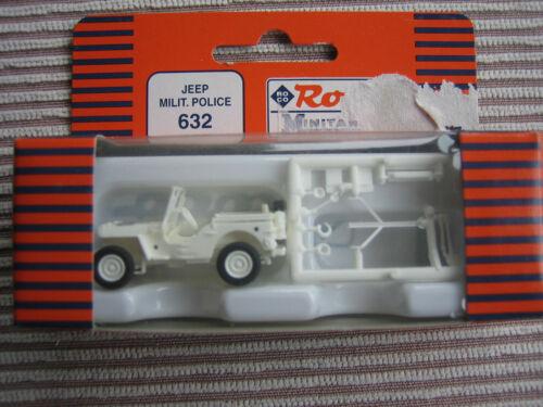 Roco 632 Jeep Militär Police in OVP