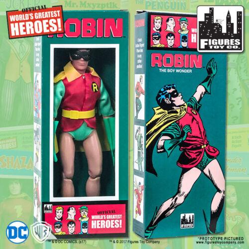 environ 20.32 cm Action Figure In Retro Style Rétro Boîte DC Comics amovible Masque ROBIN 8 in