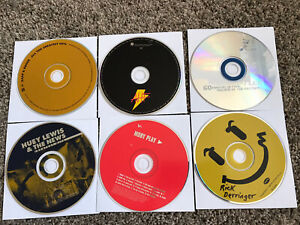 Lot Of 11 Rock N Roll Music CDs Guitar Santana The Animals Huey Lewis