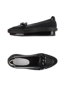 00dd90be47177 Y-3 Yohji Yamamoto Platform Penny II Womens Flat Loafers Black ...