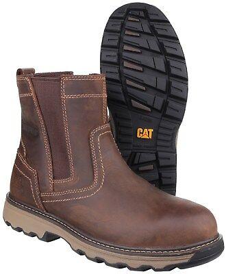 CAT Caterpillar Pelton Sécurité Dealer Bottes Industrial Homme Travail Chaussures UK6 12 | eBay