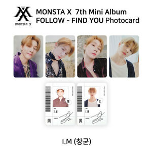 MONSTA-X-7th-mini-album-FOLLOW-FIND-YOU-Official-Photocard-I-M