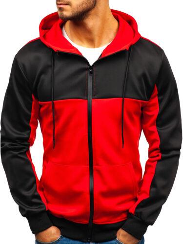 Capuche Sweatjacke Sweatshirt Hoodie Capuche Motif Mix BOLF 1a1 Basic