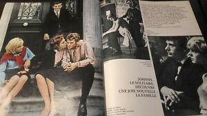 Rivista-Parigi-Match-N-760-Novembre-1963-Johnny-Sylvie-Be
