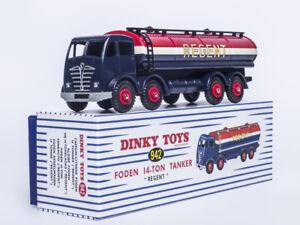 ATLAS-1-43-DINKY-TOYS-942-CAMION-CITERNE-FODEN-14-TON-TANKER-REGENT-CAR-MODEL
