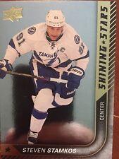 2015-16 UD Hockey Series 1 Steven Stamkos Shinning Star SS-28