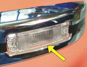 VW-Kaefer-Blinker-Glas-GEWOLBT-in-WEISS-fuer-Kasten-Stossstange-020-446020
