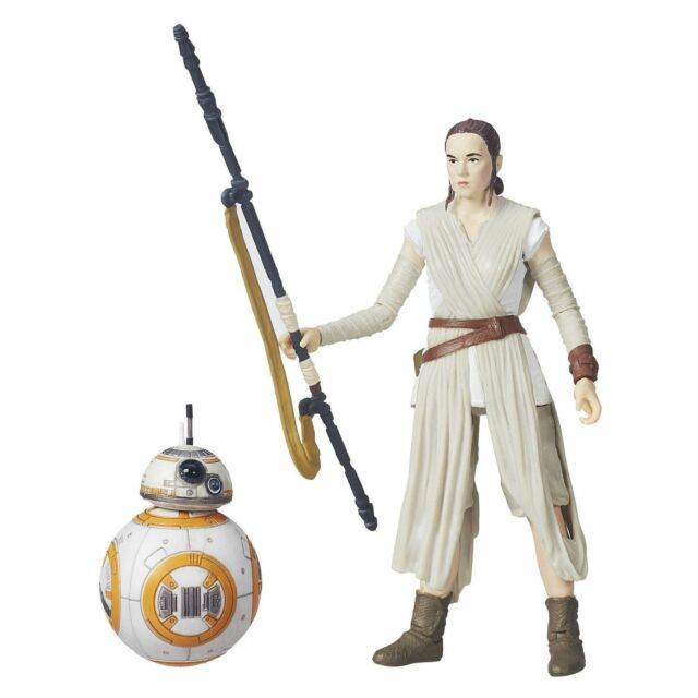 "Star Wars /""The Black Series/"" #02 Rey Jakku /& BB-8 6/"" Action Figures"