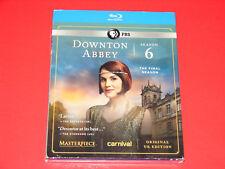 Masterpiece: Downton Abbey - Season 6 (Blu-ray Disc, 2016, 3-Disc Set)