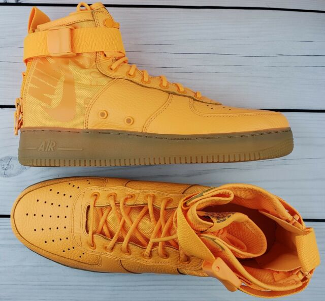 official photos 048da 5b94a Nike SF AF1 Special Air Force Mid OBJ Odell Beckham Jr Orange 917753 801  Size 12