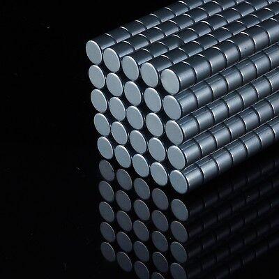 50x Neodym Scheiben Magnete Ø5 X 4 Mm N42 870g Haftkraft Ndfeb D5x4 Mm Rund