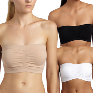 Womens-Sexy-Strapless-Bra-Removable-Pads-Bandeau-Tube-Top-Seamless-Bras-Crop-Hot