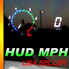 ADD MPH  Speed Gauge Cluster digital gauge cluster HUD speed meter White green