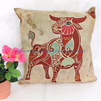 Us Seller - Cheap Pillowcase Taurus Zodiac Symbol Cushion Cover Pillowcase