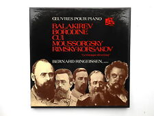Bernard RINGEISSEN piano Balakirev Borodine Cui Moussorgsky... 3 LP box ADES
