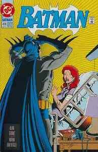 BATMAN #485 NEAR MINT 1992 DC COMICS