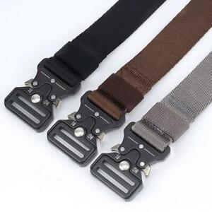 Tactical-Belt-Cobra-Quick-Release-Buckle-Outdoor-Nylon-Belt-Caudura-Military