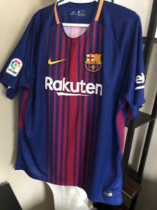 Rakuten Barcelona Nike Laliga Beko Fcb Dry Fit Soccer Unicef Shirt Xl Authentic Ebay