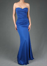Formal Prom Women Strapless Party Gown Evening Cocktail Long Maxi Dress S M L