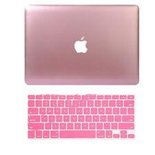 "For Macbook Air Pro Retina 11 12 13 15"" Metallic Matte Hard Case Keyboard Cover"