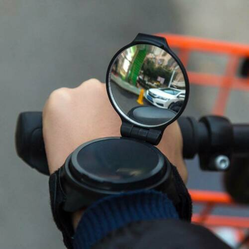 Portable Glove Bicycle Rear View Mirror Wrist Strap Bike For CyclingAccessoriesU