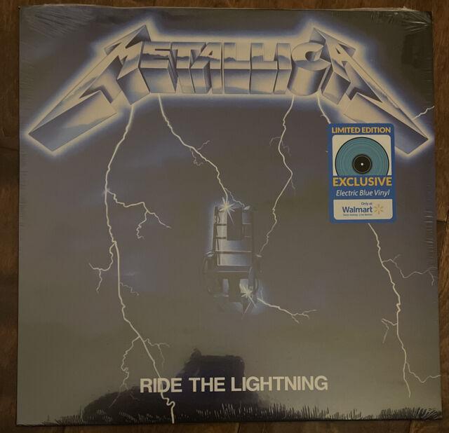 Metallica RIDE THE LIGHTING Walmart Exclusive Limited Colored Vinyl Record LP 21