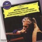 """Arthur Honegger: Symphonien Nos. 2 & 3 """"Liturgique"""" [9 Tracks] (CD, Oct-1995, DG Deutsche Grammophon)"""