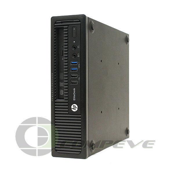 Hp Elitedesk 800 G1 Ultra Slim Pc W Intel I5 4590s 4gb Ram 500gb Hdd