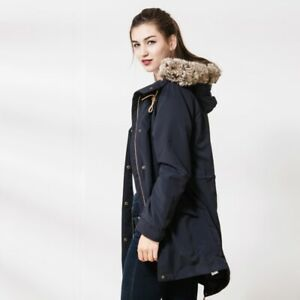 Navy Lightweight Parka Womens