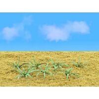 """Ferns Plants 1"""" Width 9 Pack Flowering O Scale JTT Scenery Products Yard Toys"""