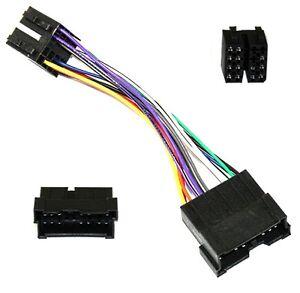 adaptateur faisceau cable fiche iso e8 autoradio pour. Black Bedroom Furniture Sets. Home Design Ideas
