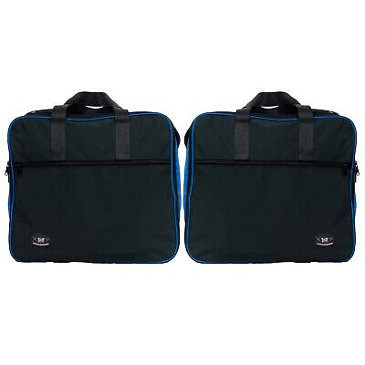 Pannier Liner Inner Bags to Fit BMW R1200GS Vario Panniers Blue Colour Pair Great Quality