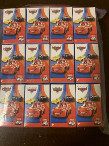Pixar Cars Mini Racers Series 2 Complete Set Of 12