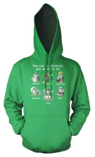 Penguin You Can Be Whatever You Want To Be Potter Got Unicorn Kids Hoodie