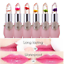 Flower-Crystal-Jelly-Lipstick-Magic-Temperature-Change-Color-Lip-Balm-Waterproof miniatura 1