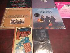 O' BLUES MFSL'S SONNY & BROWNIE 3 VARIOUS 45 ARTISTS LP'S + CDS + CASSETTE BOX