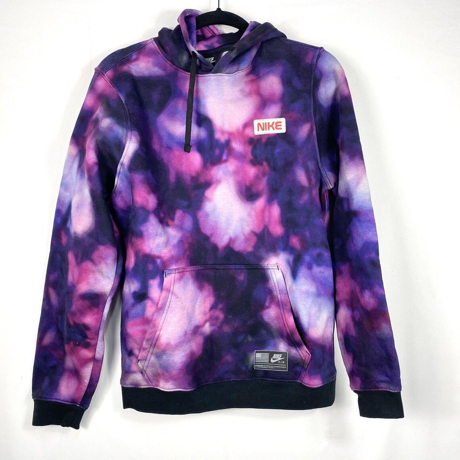 Abrazadera esposas El extraño  Nike Stargazer Club Fleece Pullover Nasa Galaxy Hoodie Men Sz Medium  BV3069-010 for sale online