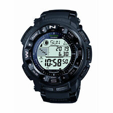 New Casio Men's PRW2500-1A Pro Trek Pathfinder Solar Chronograph Black Watch