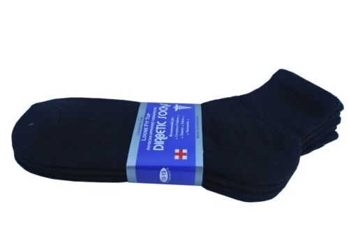 Diabetic ANKLE Socks Health Men's /& Women/'s Cotton ALL SIZE Up to 13-15