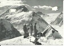 NEPAL 1965 MOUNT EVEREST BY MAIL RUNNER FROM BASE CAMP EXPEDITION SIGN RARE CARD