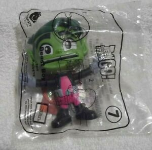 DC Teen Titans Go McDonald/'s Happy Meal Toy Beast Boy #7 New Sealed Package