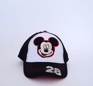 Mickey-Mouse-Nino-Sombrero-Ninos-Chicos-bordado-de-Walt-Disney-Beisbol-Gorra